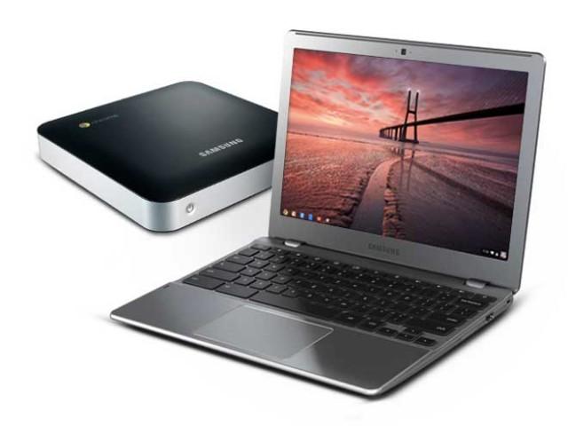 Google : deux nouveaux Chromebooks et une Chromebox en prime