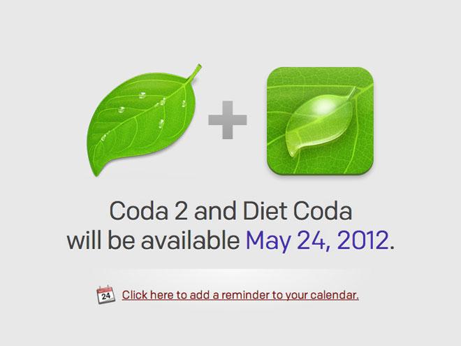 Coda 2 : des nouveautés et une application iPad