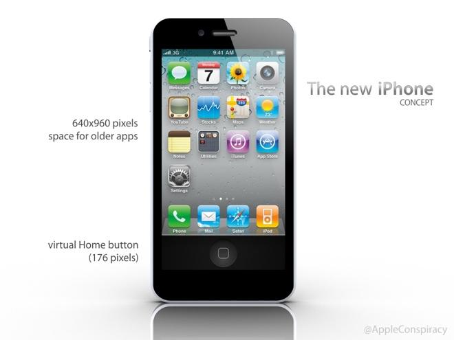 iPhone 5 : encore un concept