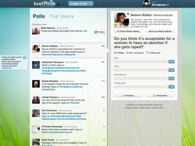 Créer des sondages sur Twitter avec TwitPolls