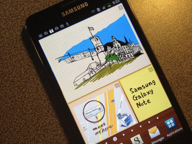 CyanogenMod 9 débarque sur le Samsung Galaxy Note