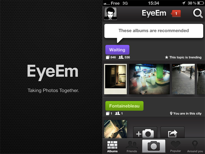 EyeEm, une solide alternative à Instagram