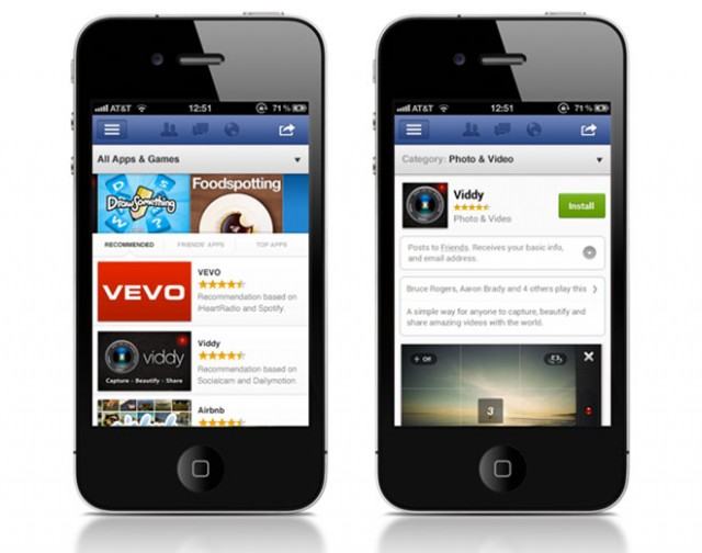 Facebook App Center : la boutique d'applications de Facebook est annoncée !