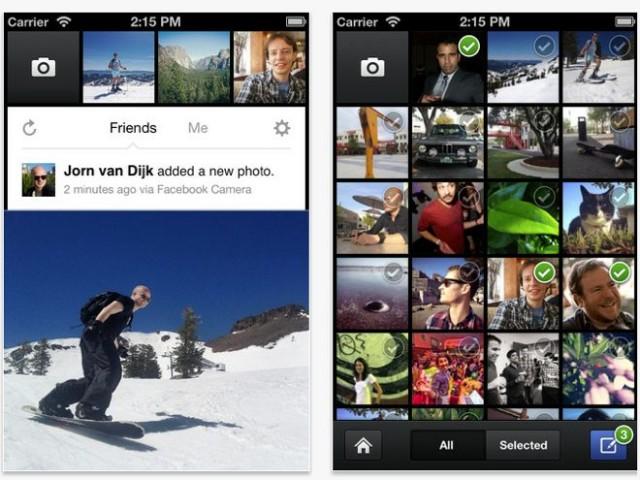 Facebook Camera, Instagram à la sauce Facebook
