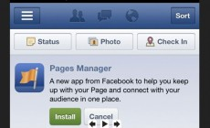Facebook Pages Manager, une application mobile pour gérer ses pages