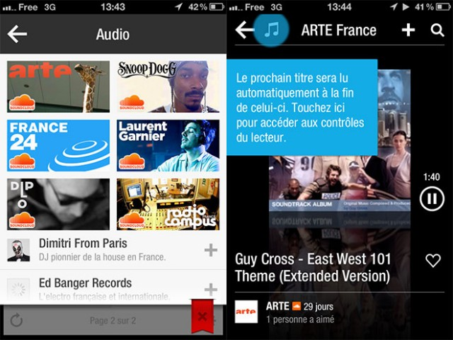 Flipboard 1.9 passe à l'audio