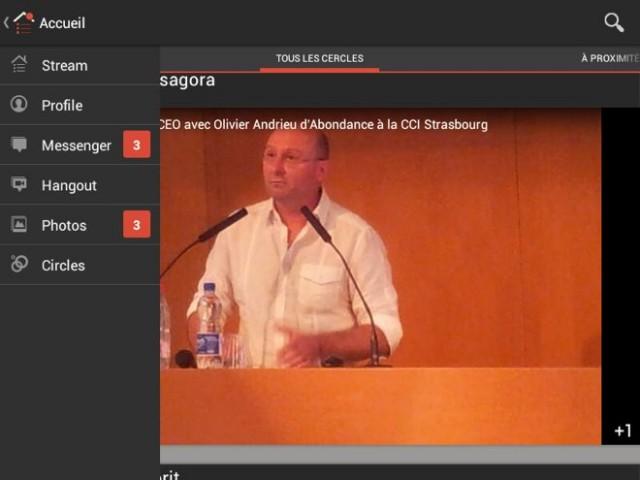 Google+ : la nouvelle version débarque sur Android