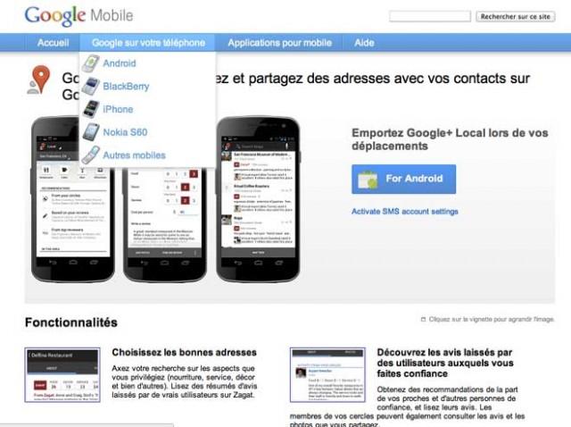 Google+ Local : découvrez et partagez des adresses avec vos amis