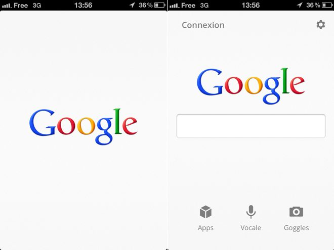 Google Search : une nouvelle version sur iOS