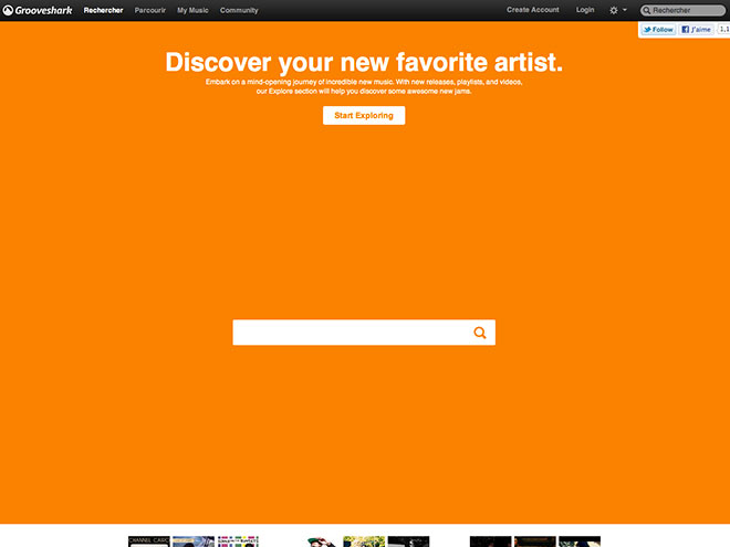 Facebook abandonne Grooveshark