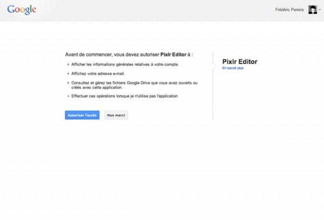 Installer des applications dans Google Drive