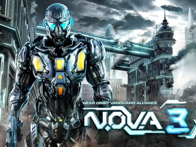 N.O.V.A. 3 est disponible sur iPhone et iPad