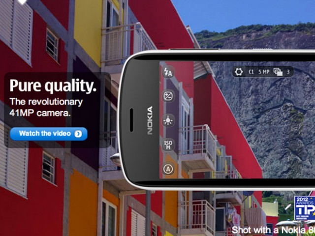 La Terre vue du ciel avec un Nokia 808 PureView