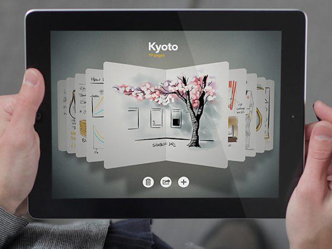 Paper : une mise à jour sur iPad