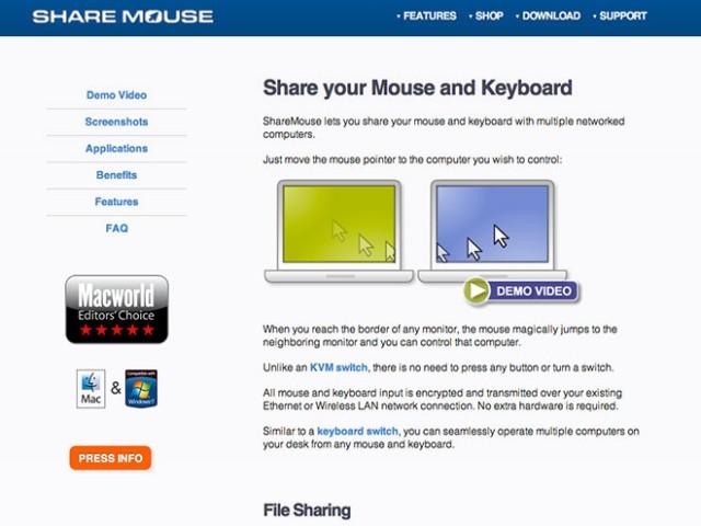 Partager sa souris et son clavier entre plusieurs PC ou Mac