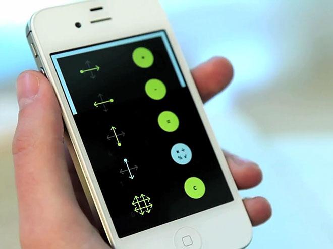 """iOS : Rechner, une calculatrice entièrement basée sur les """"gestures"""""""