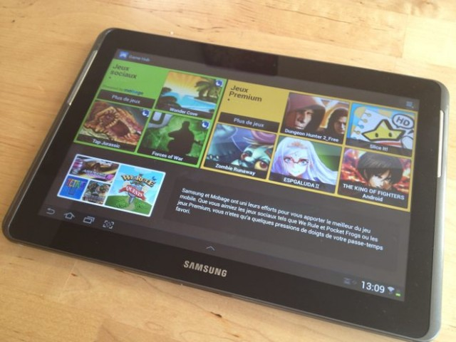 Test : Samsung Galaxy Tab 2 10.1