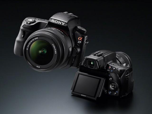 Sony NEX-F3, Sony Alpha A37 : officialisés par Sony