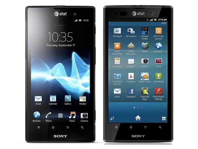 Sony Xperia Ion : sortie en France en septembre 2012