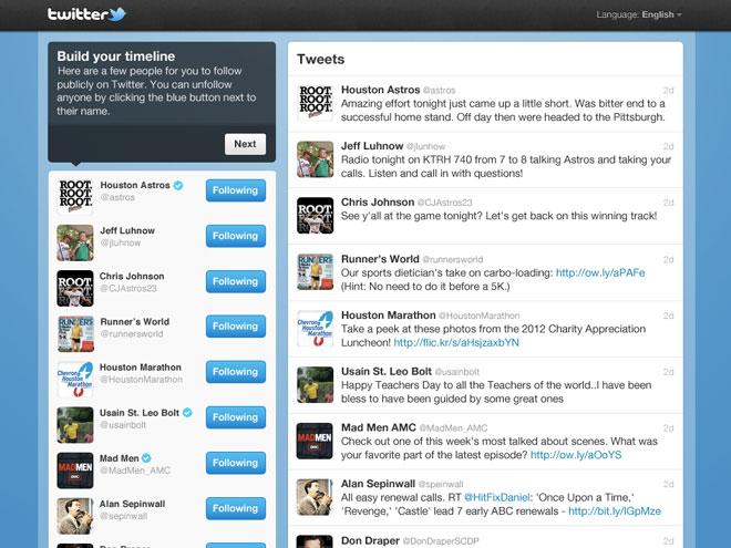 Twitter : bientôt des suggestions personnalisées ?