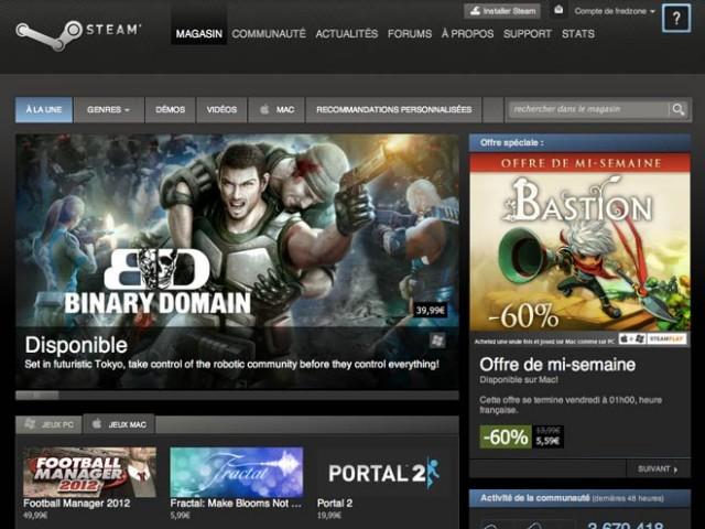 Steam introduit le téléchargement à distance
