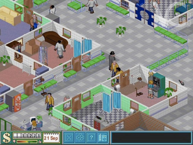 Jouer à Theme Hospital sur Android