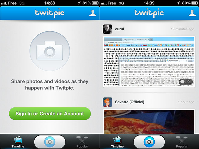 Twitpic arrive sur iOS