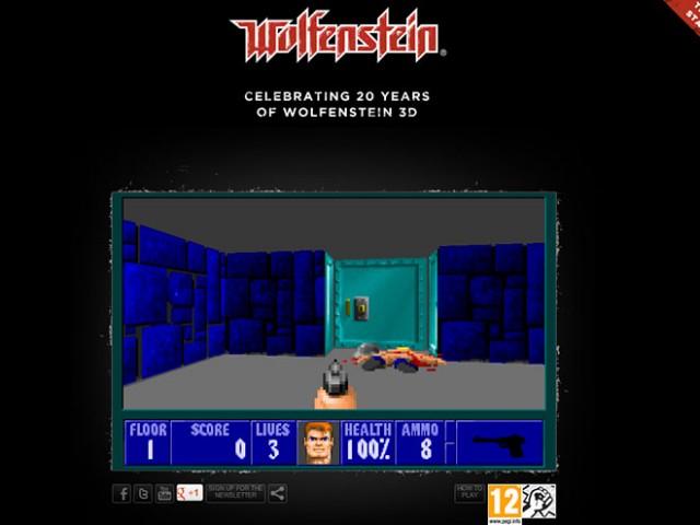 Jouer à Wolfenstein 3D dans le navigateur