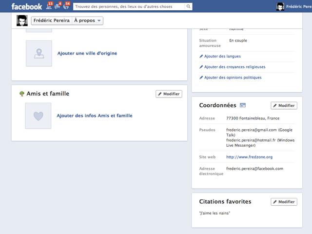 Facebook : une adresse mail maison pour tout le monde