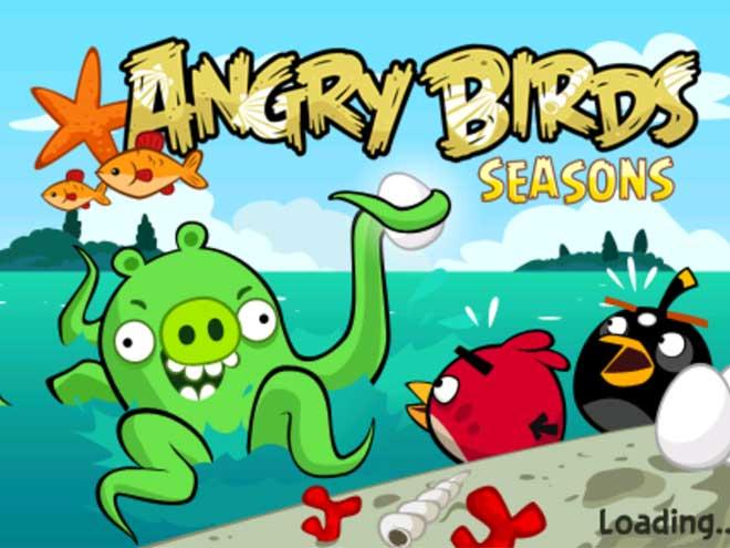 Angry Birds Seasons : 30 nouveaux niveaux avec de l'eau dedans