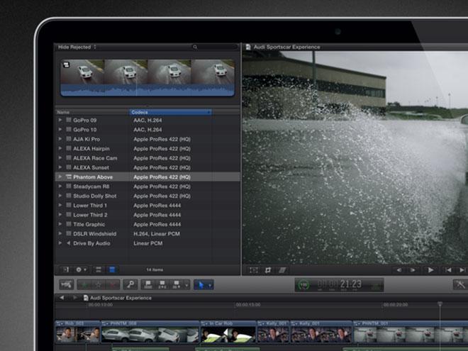 Final Cut Pro, Photoshop ou encore Aperture passent au Retina