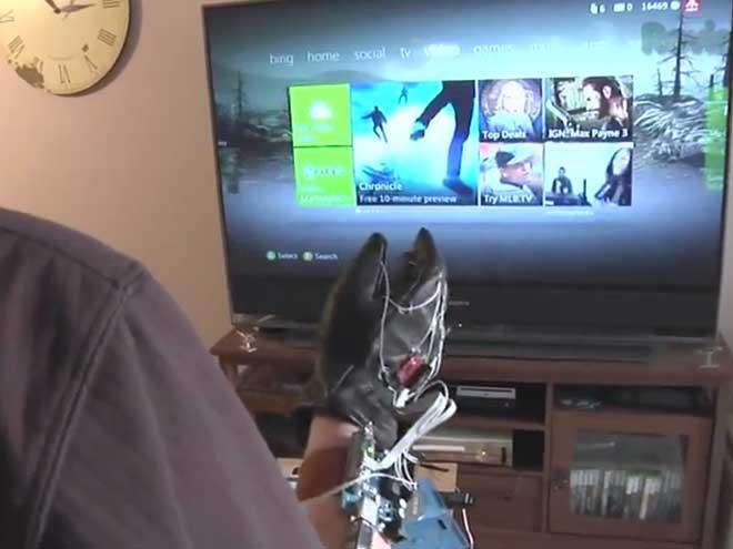Power Glove 2.0 : contrôler sa Xbox 360 façon Minority Report