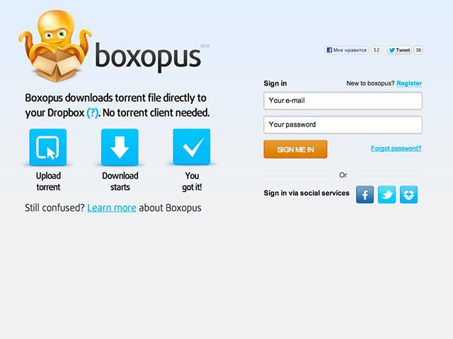 Télécharger des torrents dans Dropbox
