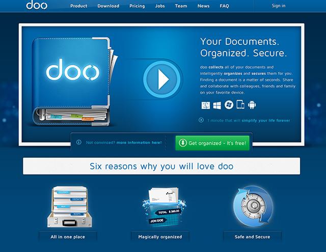 Doo, un utilitaire qui synchronise nos fichiers et qui les organise