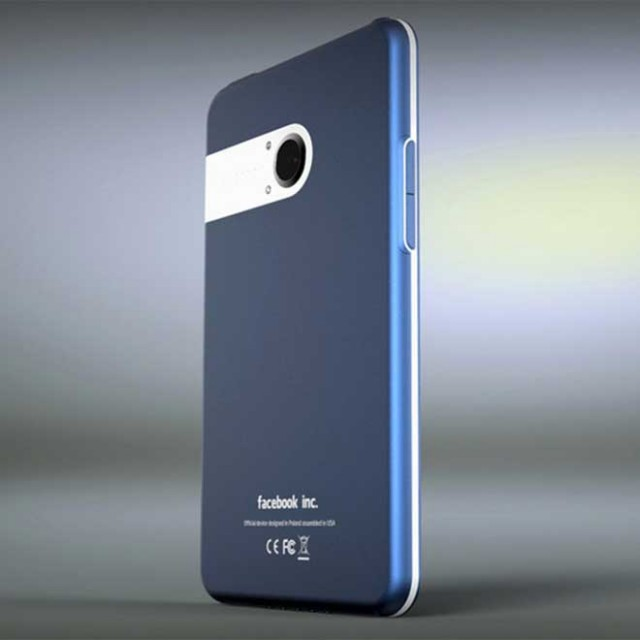 Facebook Phone : un chouette concept