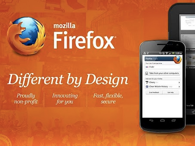 Une nouvelle version de Firefox pour Android sur Google Play