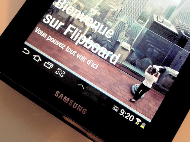 Flipboard Android est disponible sur Google Play !