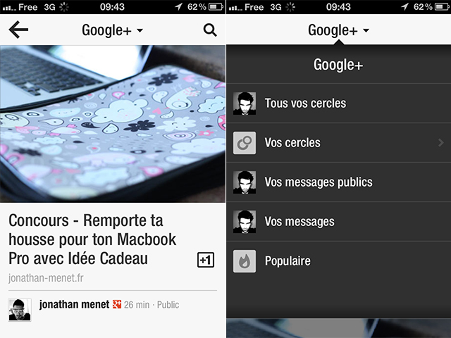 Flipboard iOS : Google+ et YouTube font son entrée !