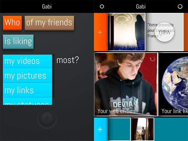Gabi, une autre manière d'explorer Facebook