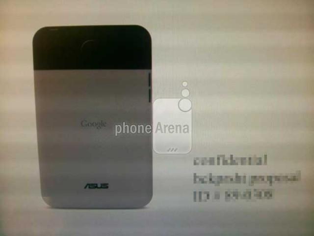 Les premières photos de la tablette Google Nexus ?