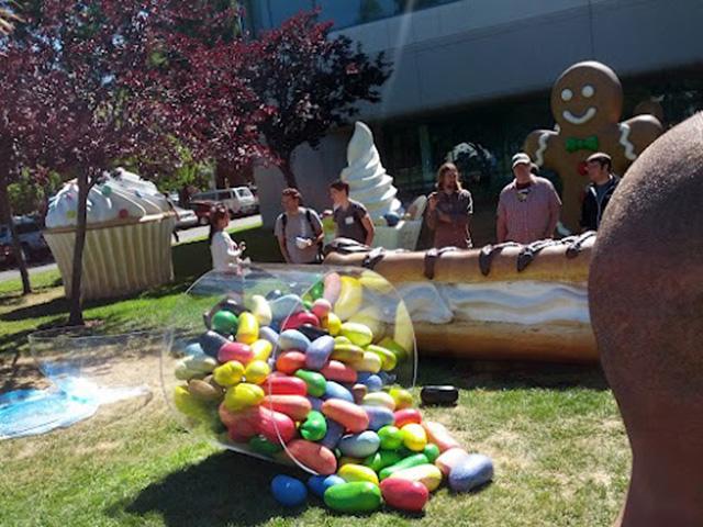 Jelly Bean fait son entrée sur le Google Campus