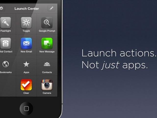 Launch Center Pro, bientôt un lanceur intelligent pour iPhone