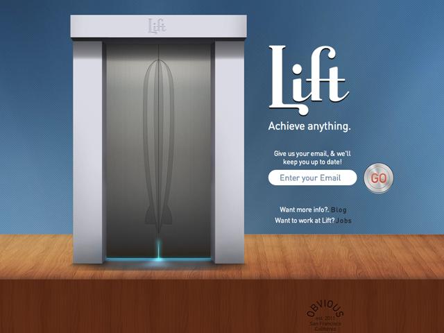 Lift, les premières captures du nouveau projet des fondateurs de Twitter