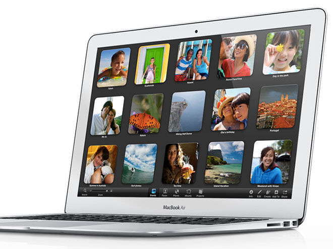 MacBook Air 2012 : Ivy Bridge, Turbo Boost et 8 Go de RAM !