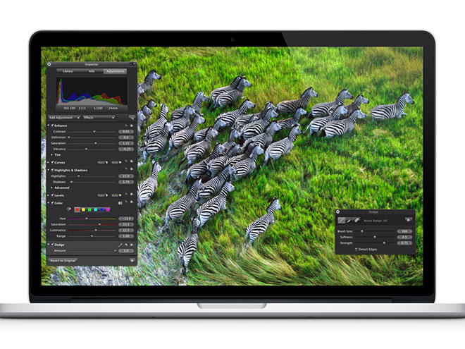 MacBook Pro 2012 : écran Retina, coque ultra fine
