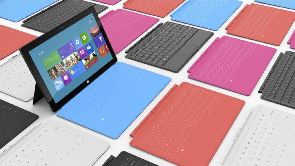 Surface : la tablette de Microsoft