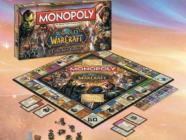 Un Monopoly à l'effigie de World of Warcraft