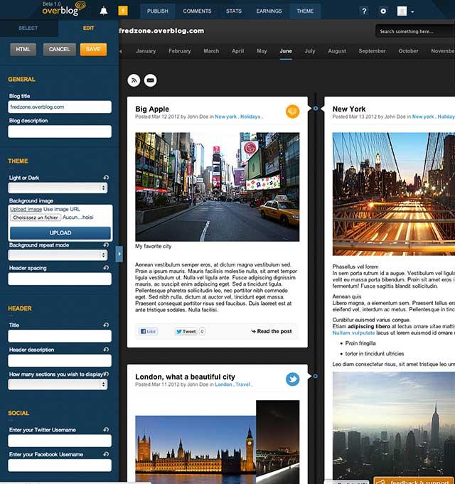 Overblog : une nouvelle version plus sociale