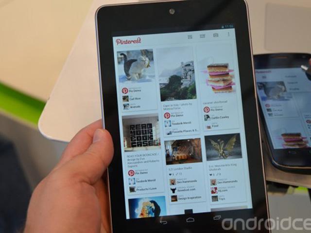 Pinterest pour Android : une première photo
