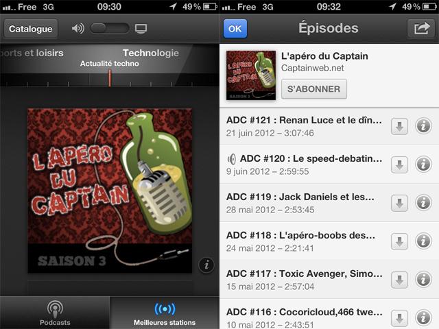Podcasts, la nouvelle application d'Apple